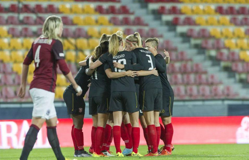Voetbalsters FC Twente overtuigen in Champions League