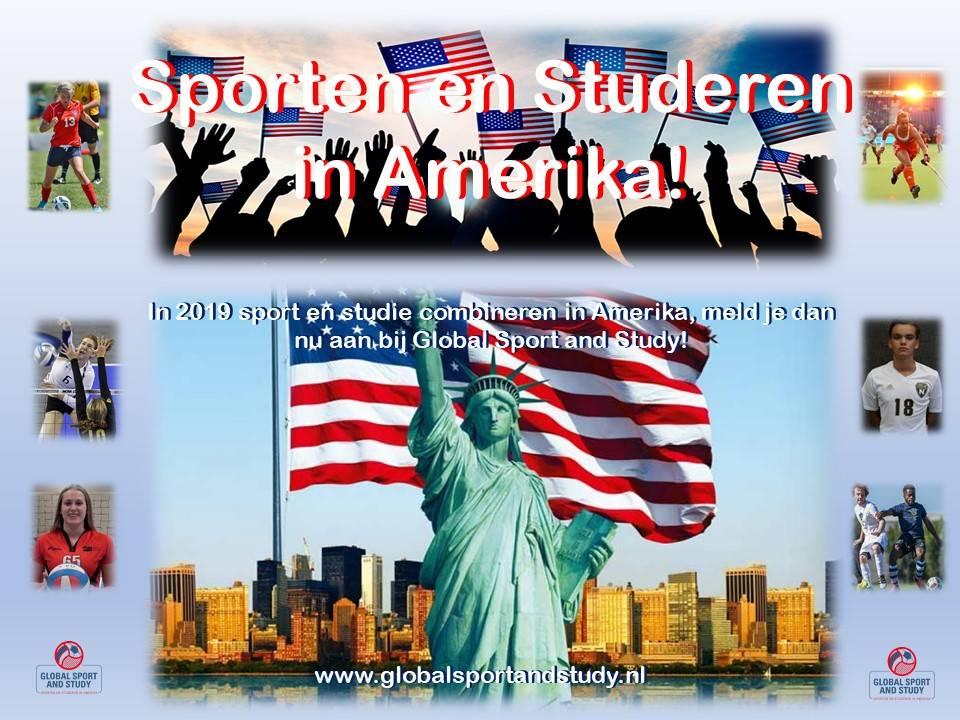 Wil je in 2019 sporten en studeren in Amerika, nu al aanmelden!