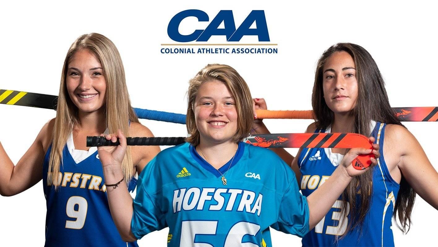 Betty Bosma Named To CAA All-Rookie Team!