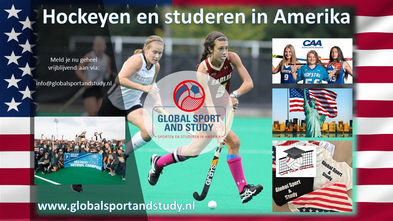 Hockeyen en studeren in Amerika!