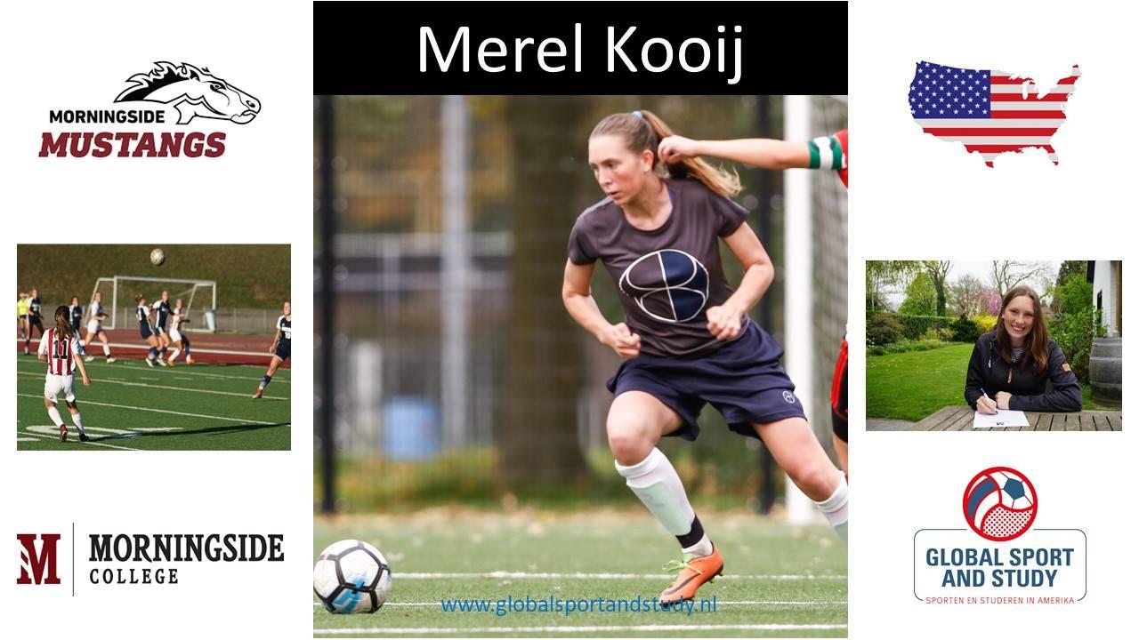 """Merel Kooij becomes a """"Mustang"""""""