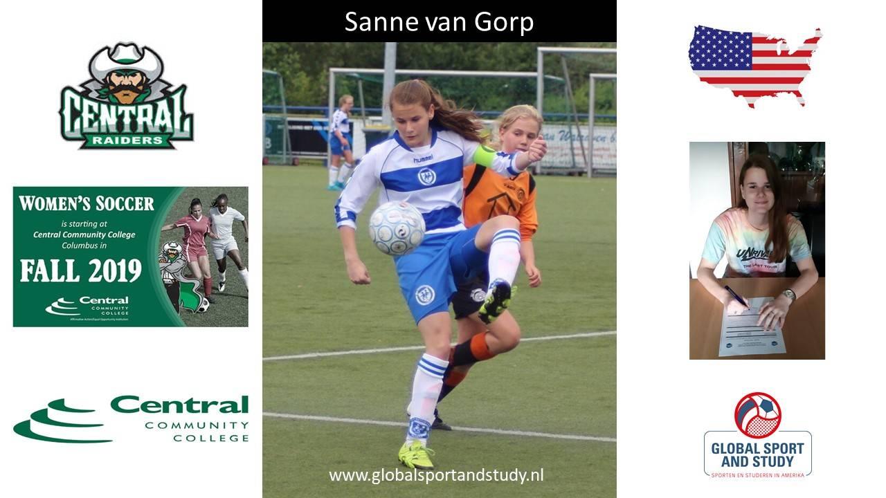 """Sanne van Gorp becomes a """"Raider"""""""