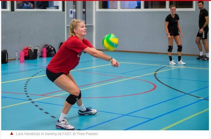 Lara Hendricks via Amerika naar de Eredivisie.
