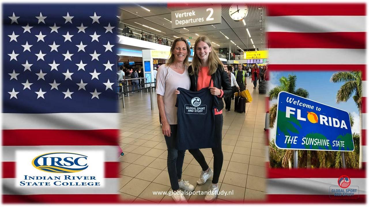 Tessa Raadsheer naar Florida!