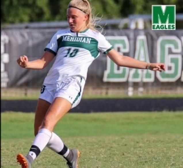 Emma Boswijk belangrijk voor de Eagles