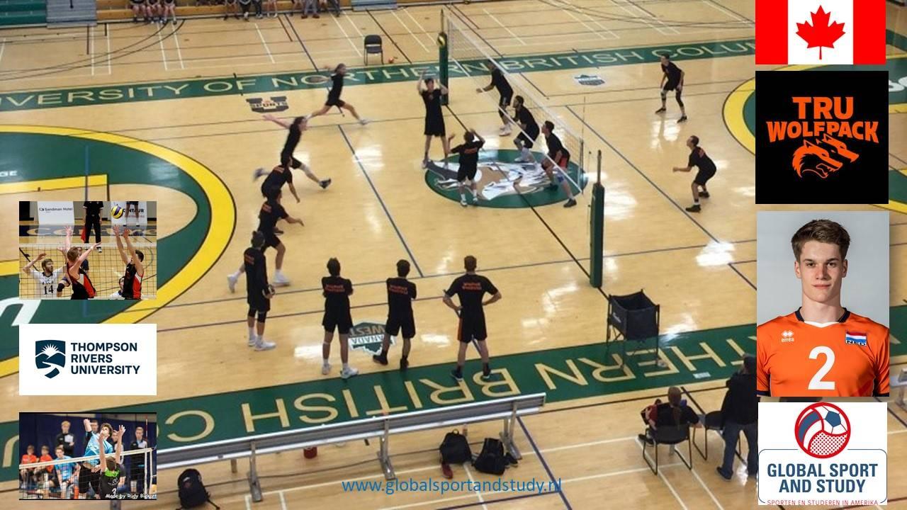 Nimo Benne, volleyballen en studeren in Canada!