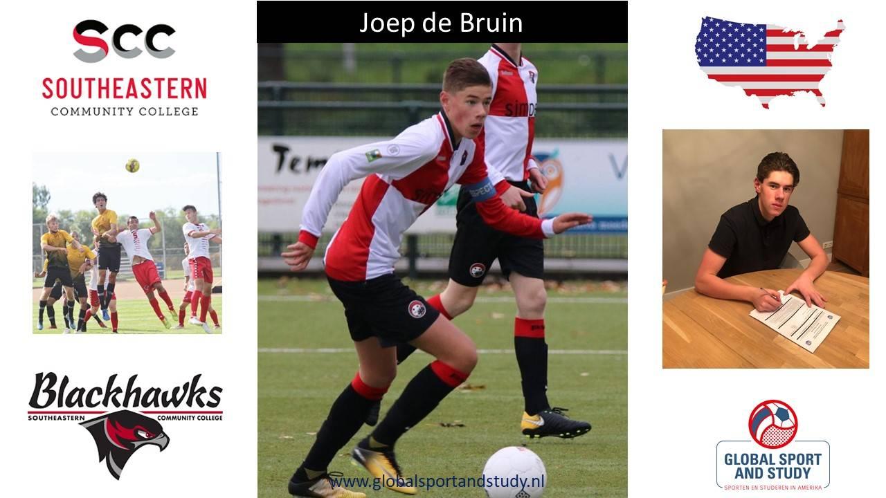 "Joep de Bruin becomes a ""Blackhawk"""