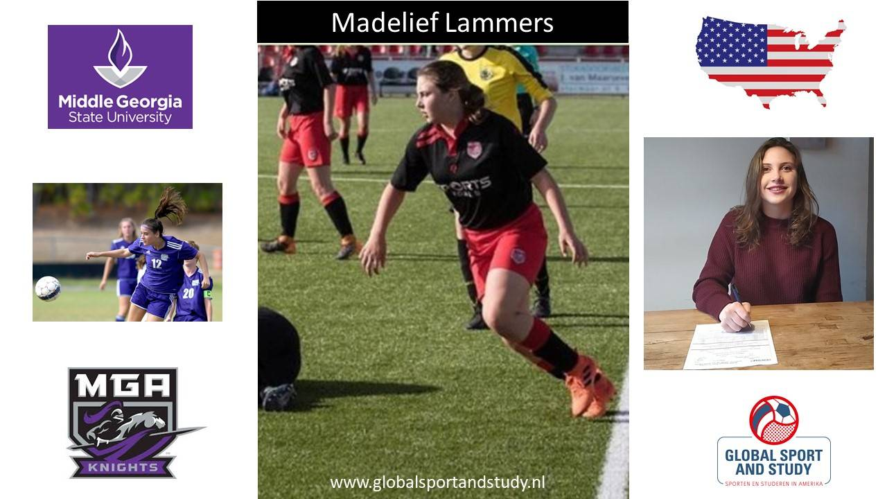 "Madelief Lammers becomes a ""Knight"""