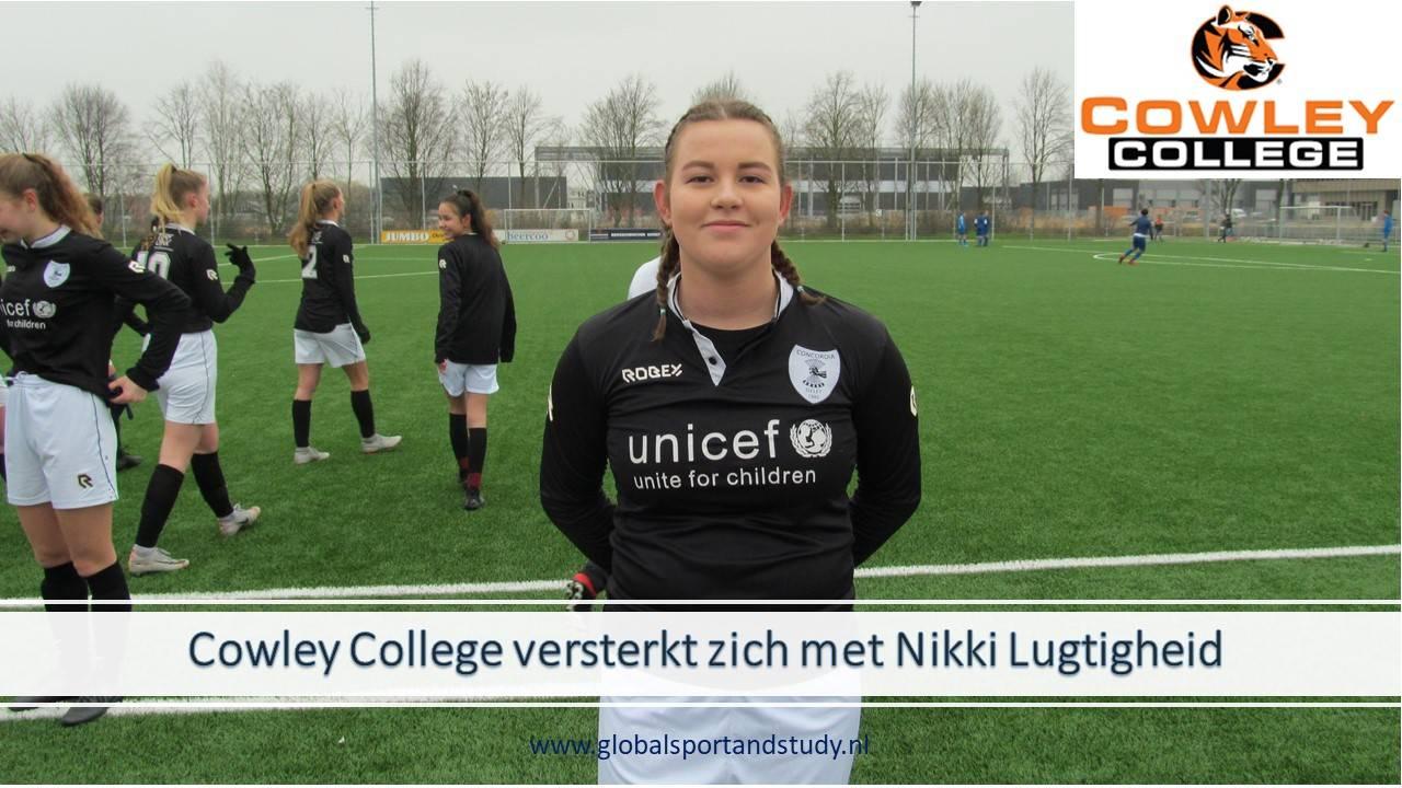 "Nikki Lugtigheid becomes a ""Tiger"""