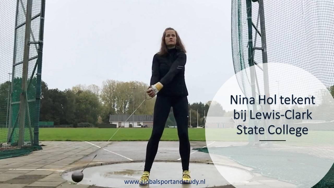 "Nina Hol becomes a ""Warrior"""