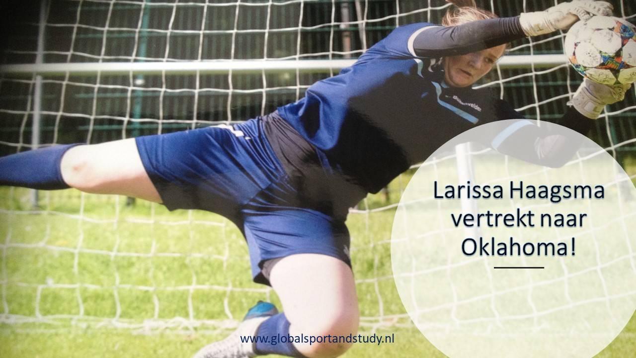 "Larissa Haagsma becomes a ""Maverick"""
