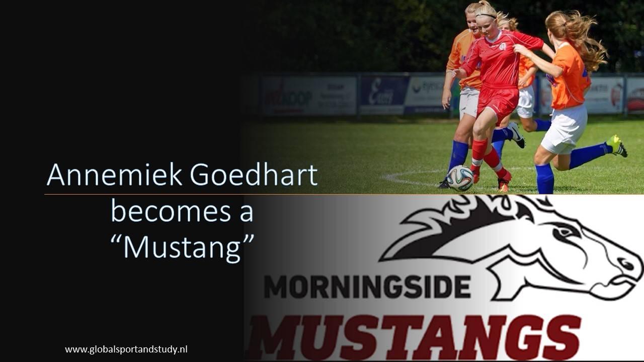 Annemiek Goedhart becomes a Mustang