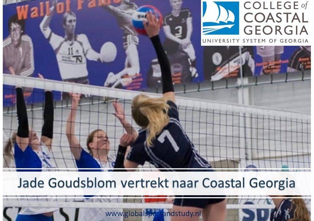 Jade Goudsblom vertrekt naar College of Coastal Georgia