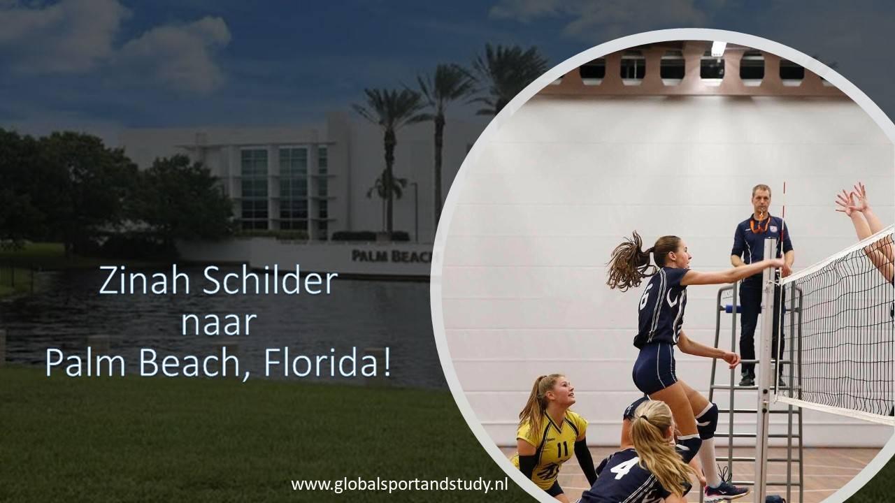 Zinah Schilder naar Florida!