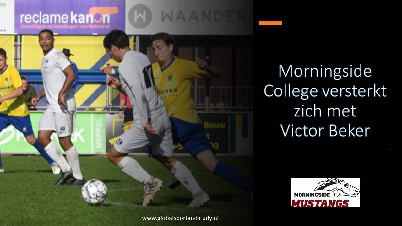 Victor Beker naar Morningside College!