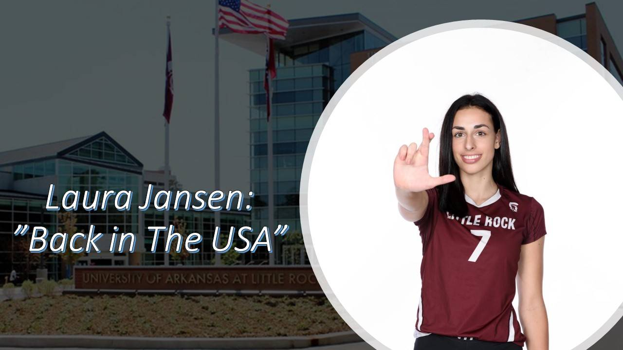"Laura Jansen – Blog 3: ""Back in The USA""."