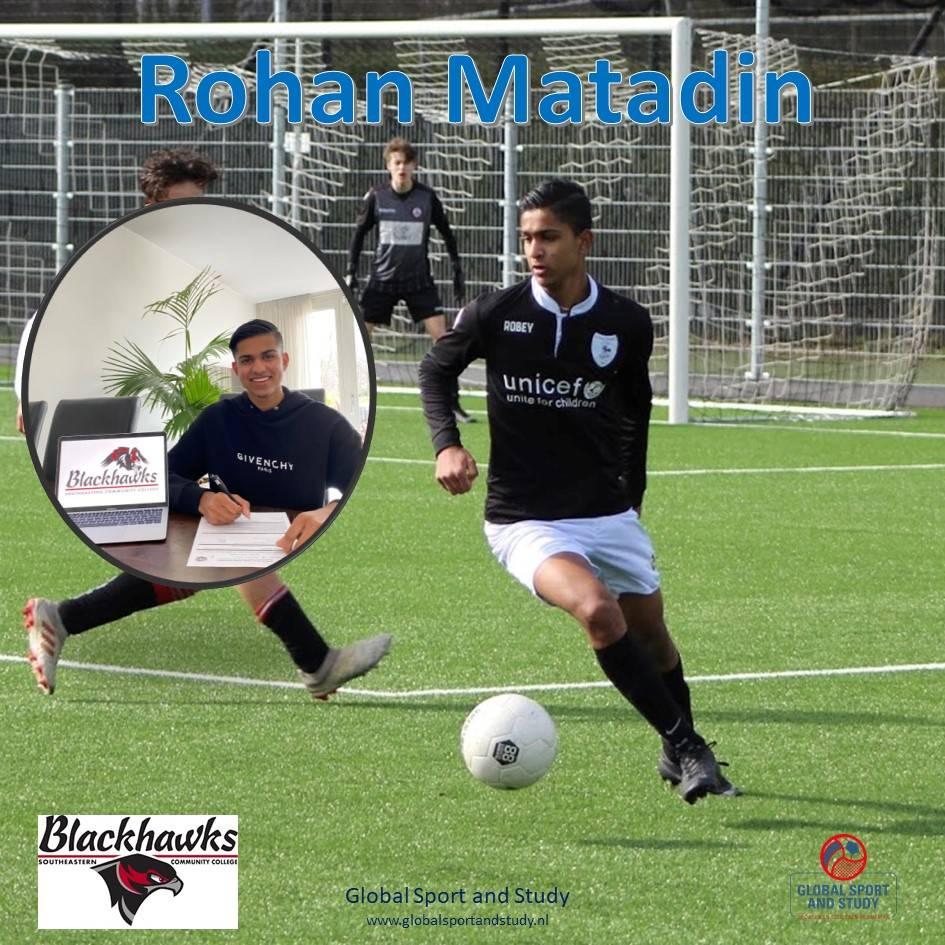 Rohan Matadin naar Southeastern College