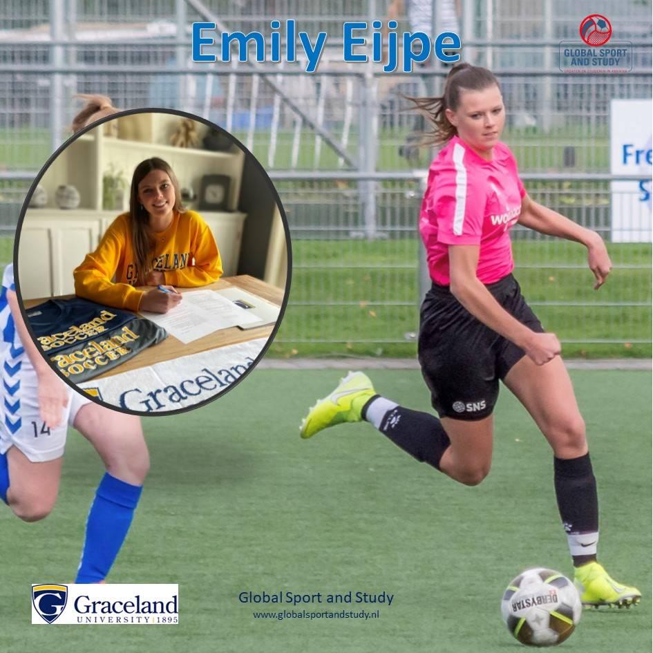 Emily Eijpe becomes a Yellowjacket