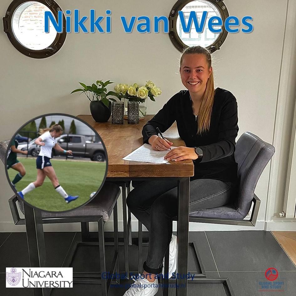 Nikki van Wees maakt transfer!