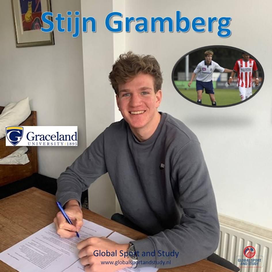 Stijn Gramberg naar Graceland University