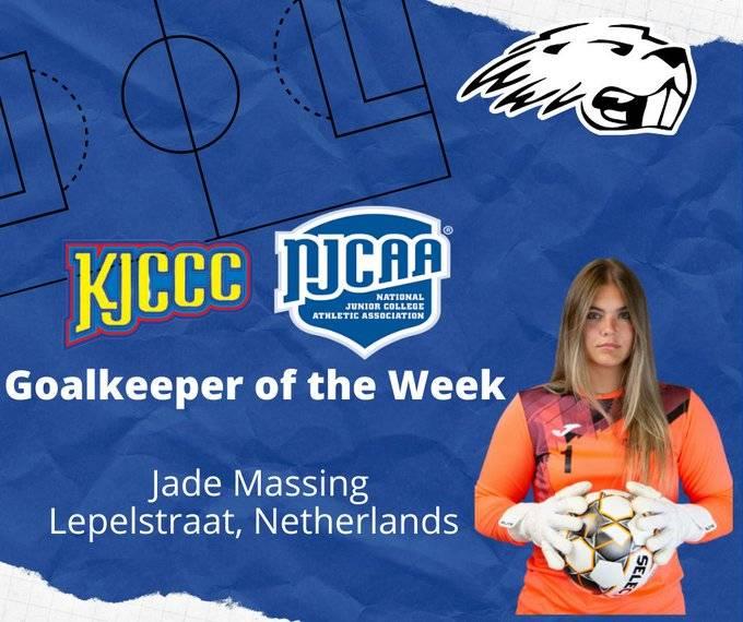 Jade Massing, National GK of the Week!