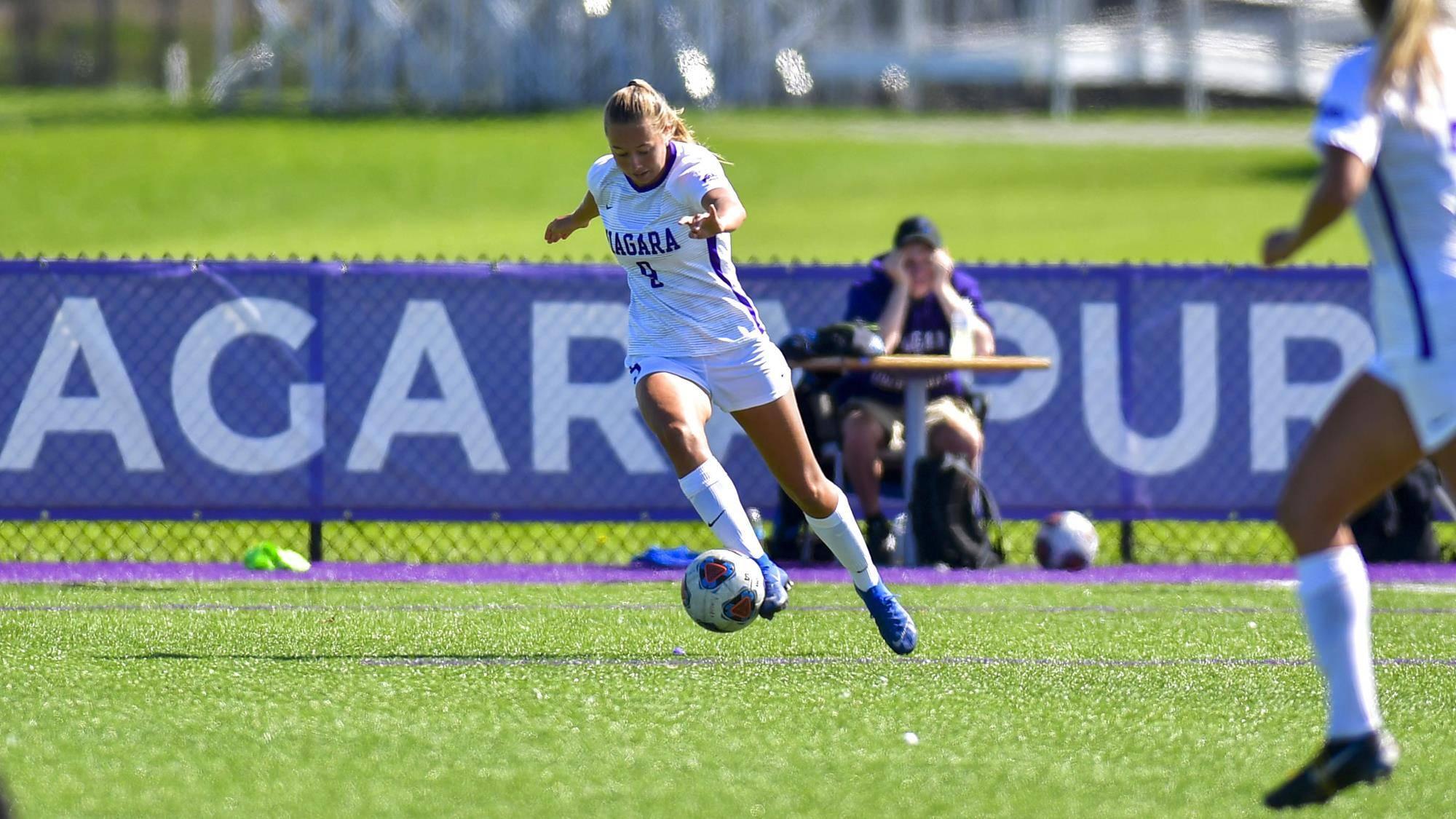 Nikki van Wees, 2-0 winst op Rider University